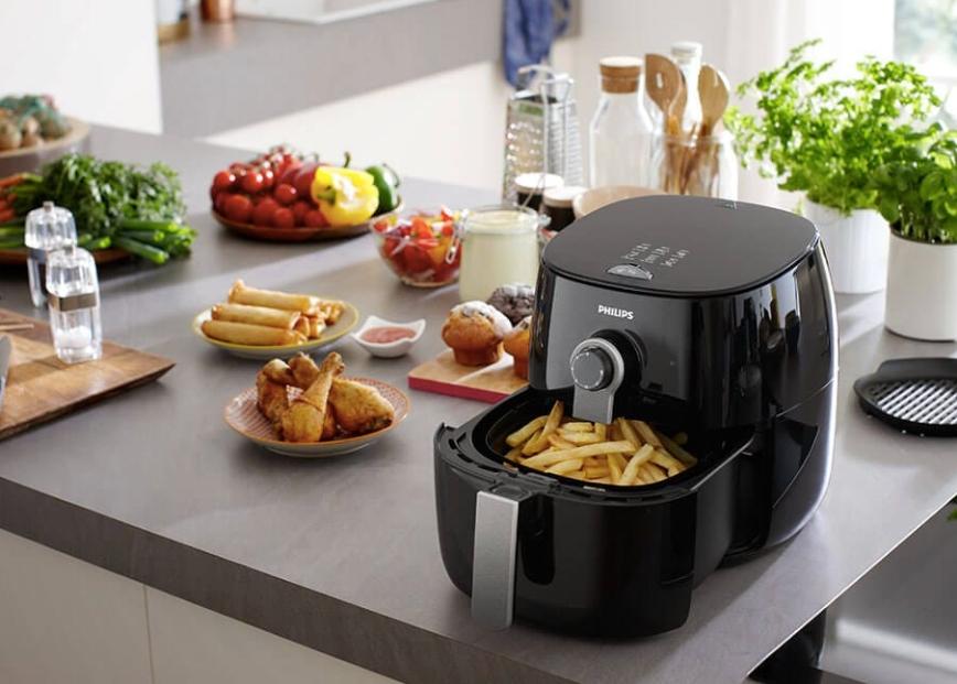 氣炸鍋讓你可以用氣炸烹調方式,輕鬆省時地為全家準備美味餐點
