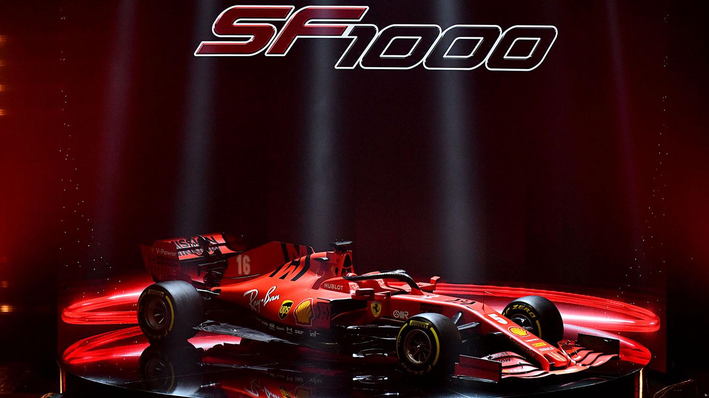 Ferrari發表2020年賽車SF1000