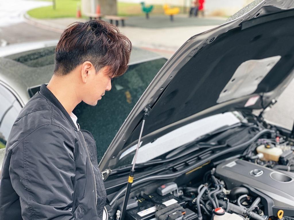 ▲潘逸安對改裝興趣缺缺,他認為,維持愛車外觀原廠化,內裝乾淨整潔,才是最重要的。