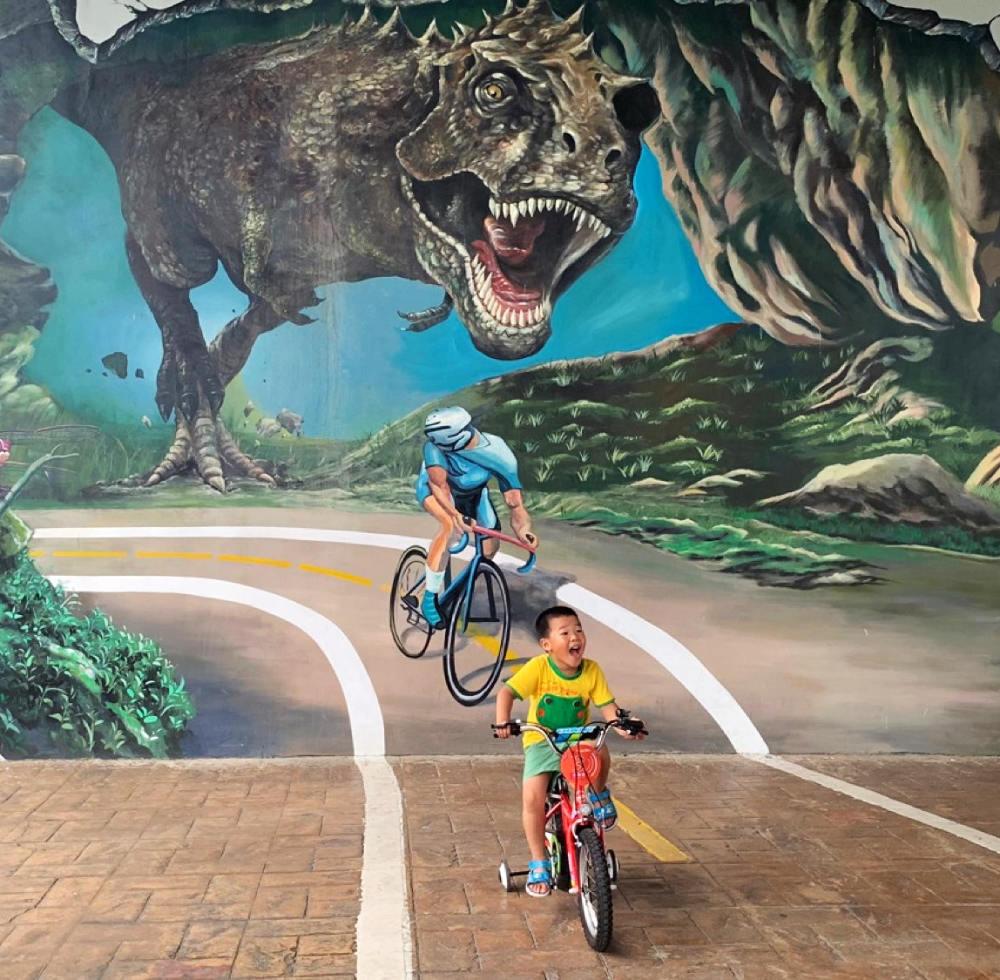 新北恐龍園區(圖片來源:三環六線進度公開專頁)