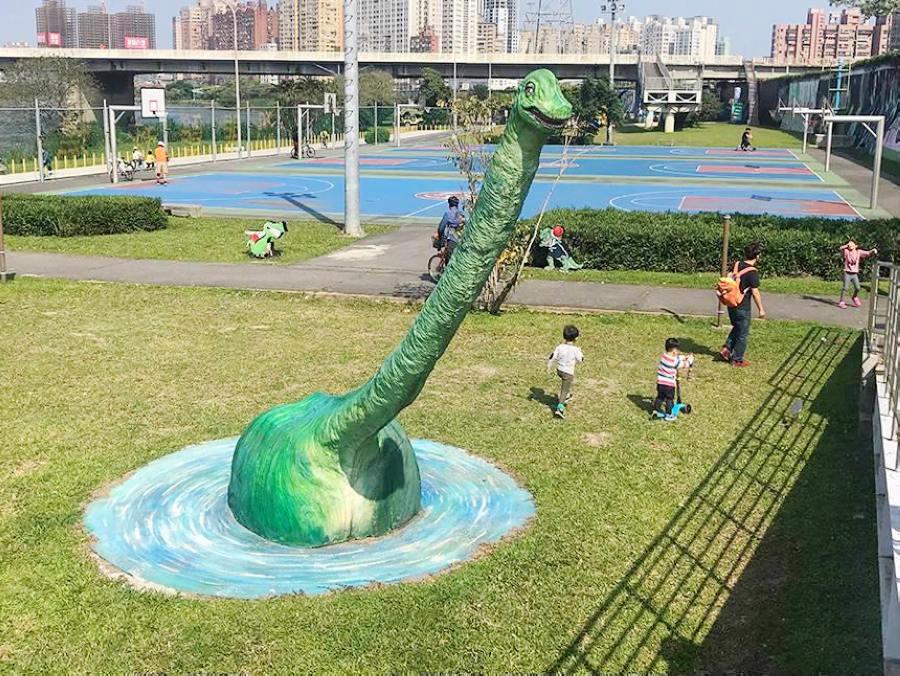 新北恐龍園區(圖片來源:新北市觀光旅遊網)