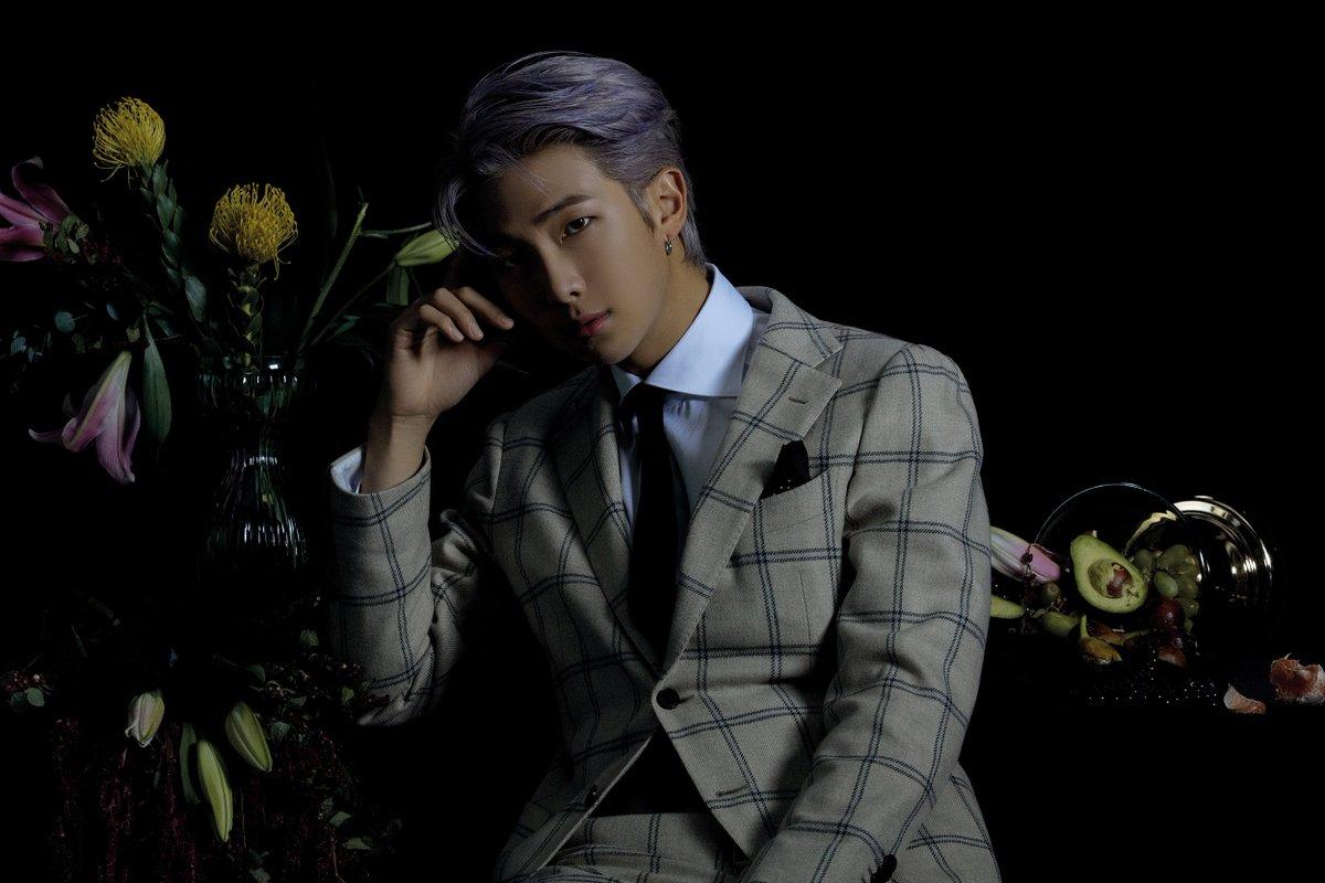 RM:丁香紫髮色