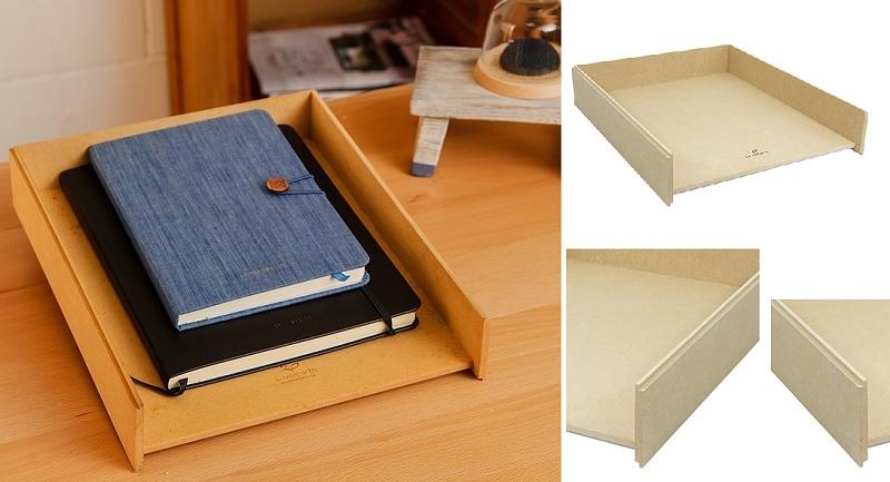 ▲採用環保材質可整齊堆疊,風格自然質樸可輕鬆融入居家裝潢。(圖片來源:Yahoo購物中心)