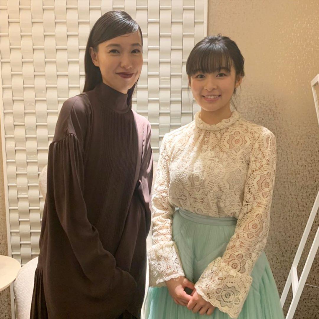《最初的晚餐》-雙世代女神戶田惠梨香與森七菜共同飾演同一角(翻攝自IG@morinana_official)