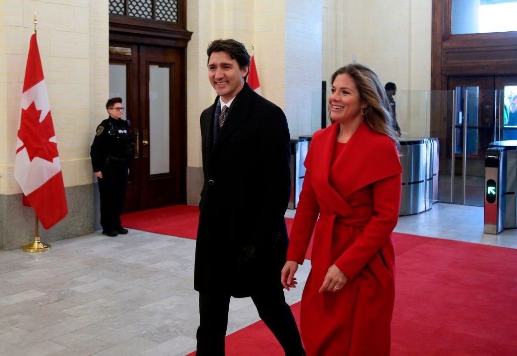 Canada's Prime Minister Justin Trudeau reportedly isn't showing any symptoms. Source: Getty