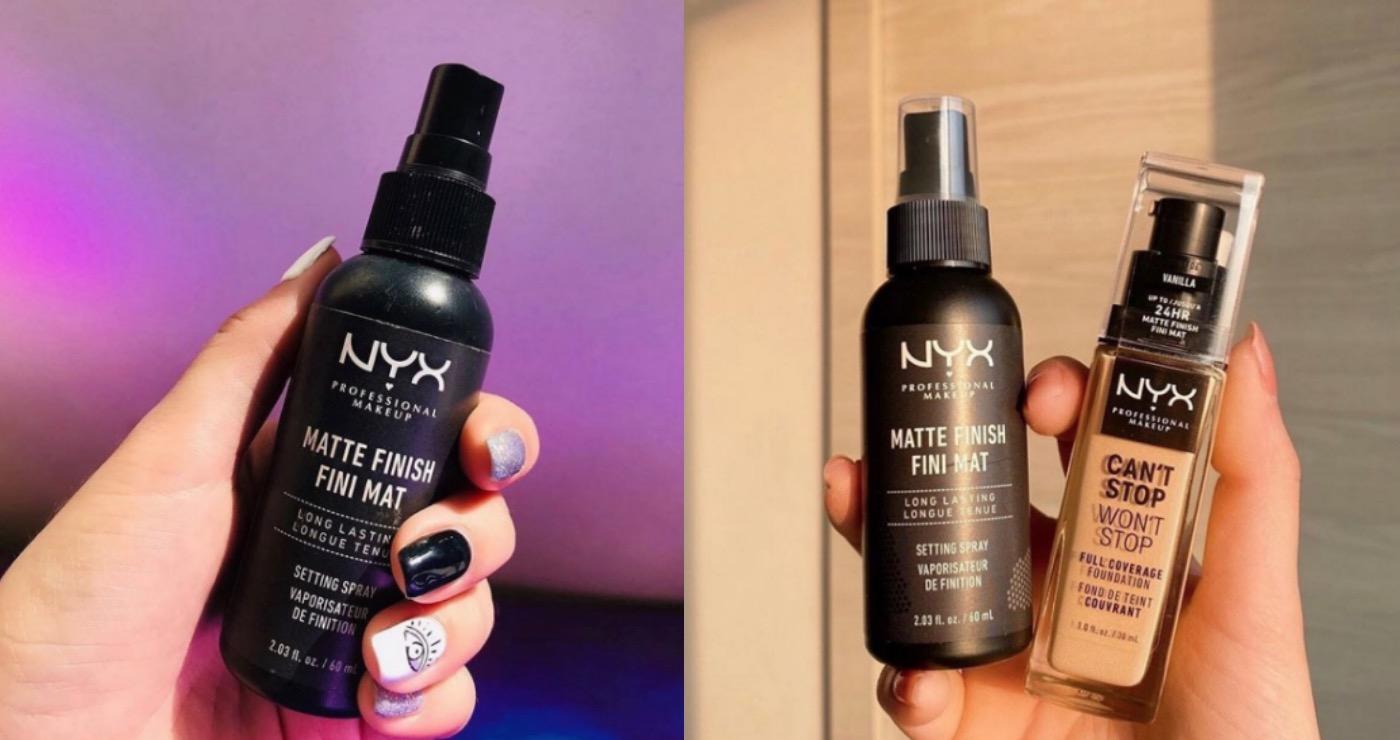 讓不持妝的年代停留在上個世紀。NYX定妝噴霧幫你全面增加肌膚保水度、彈潤度