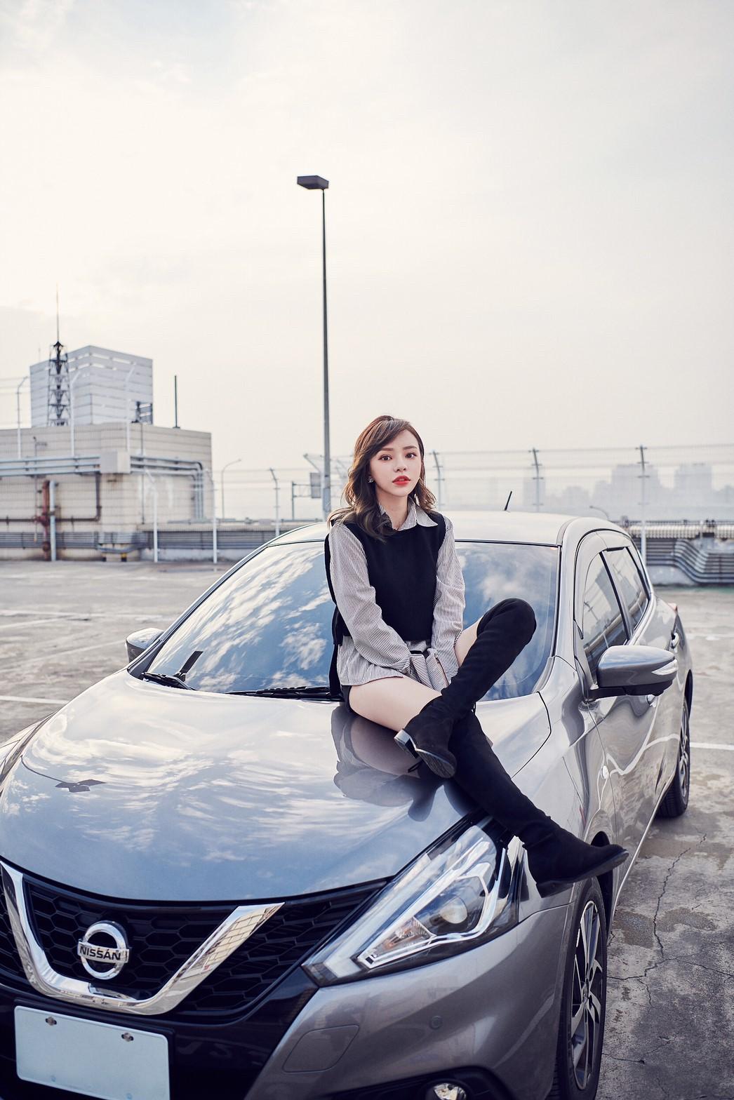 ▲陳斯亞在今年購入人生的第一部車,考量到家人乘坐的需求,選擇有「最大的小車」稱號的Tiida。