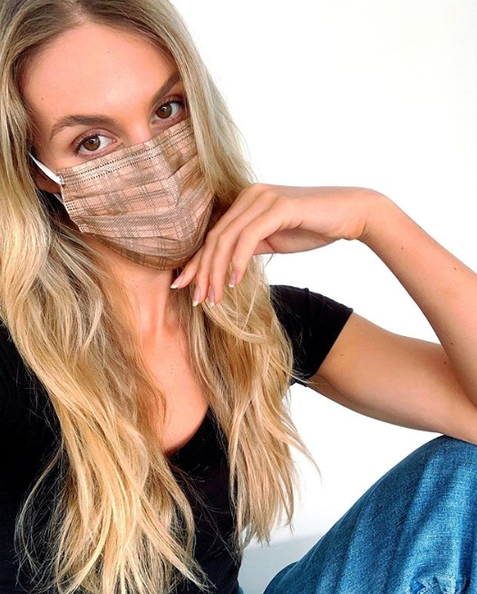 專門生產新奇花紋口罩的澳洲品牌 Tecmask 2020年1月公司與去年同期相比暴增了8000%