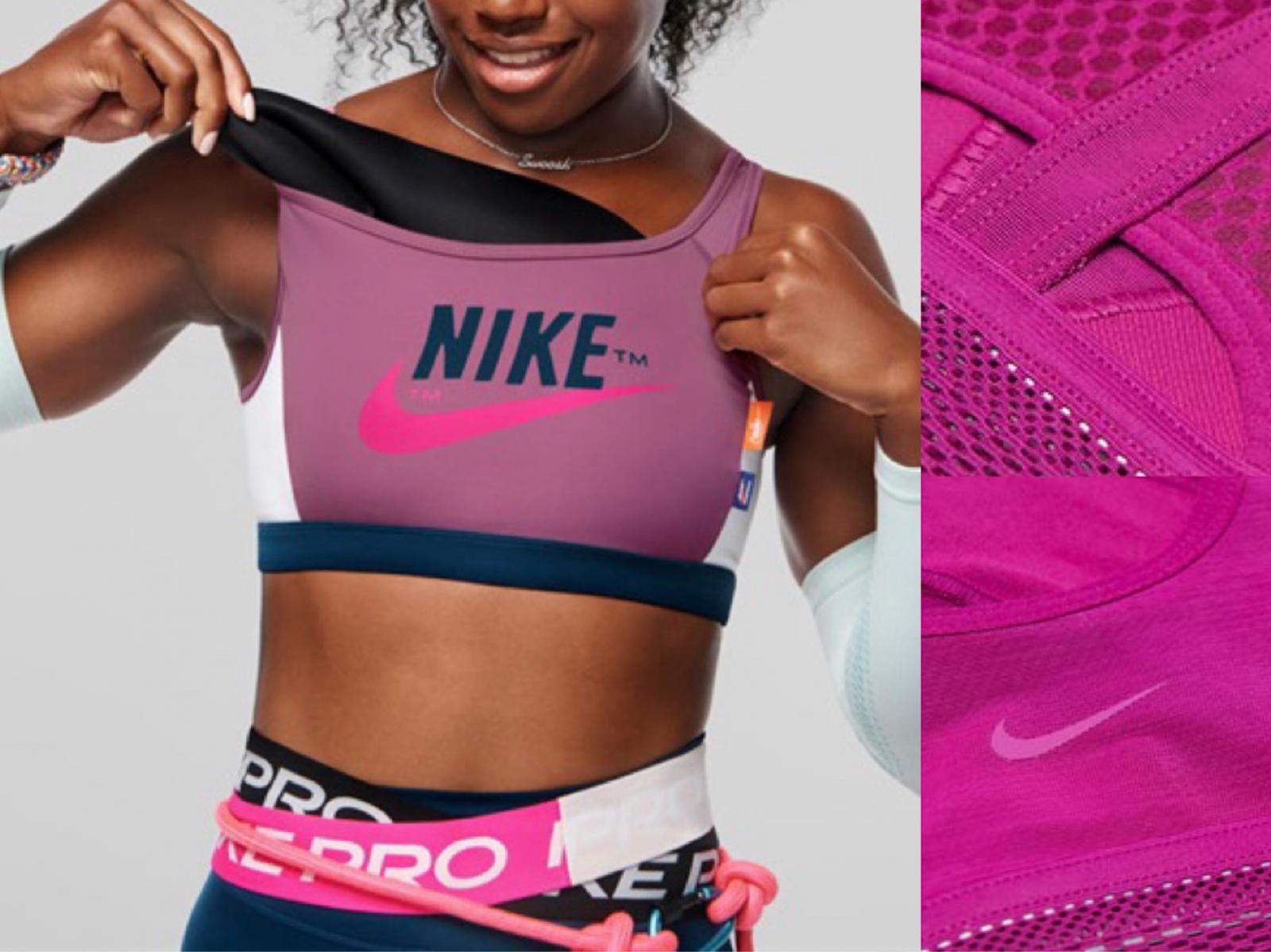《Nike》近日運用全新科技推出Nike Ultrabreathe超透氣運動內衣