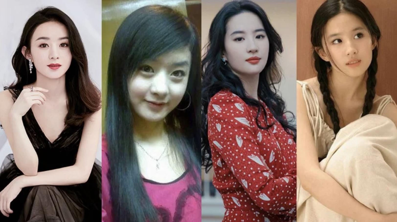 10位流量女星的早年舊照