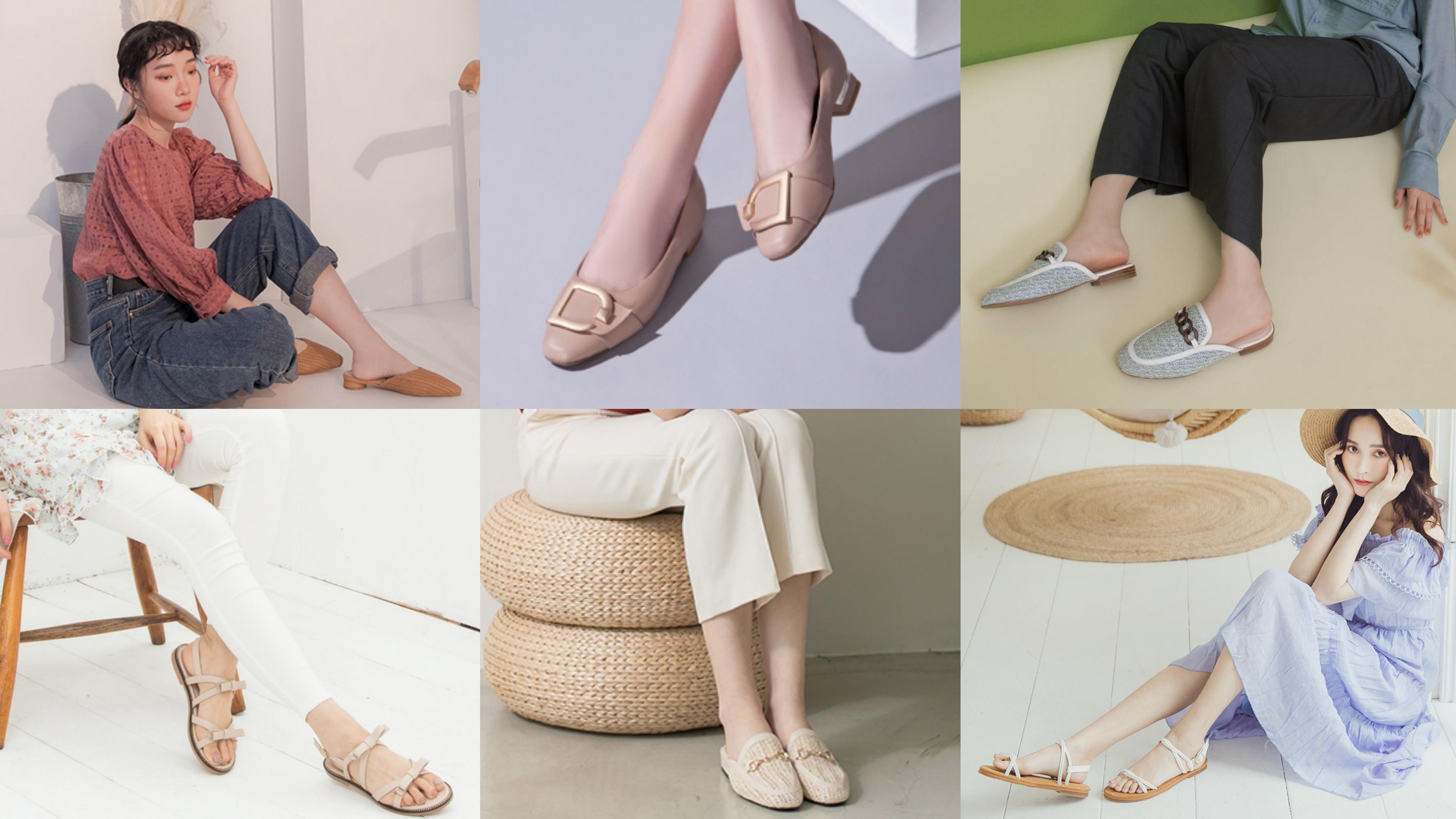 仙氣指數狂飆!春夏不能沒有的質感系美鞋TOP8,舒適、好走又百搭~
