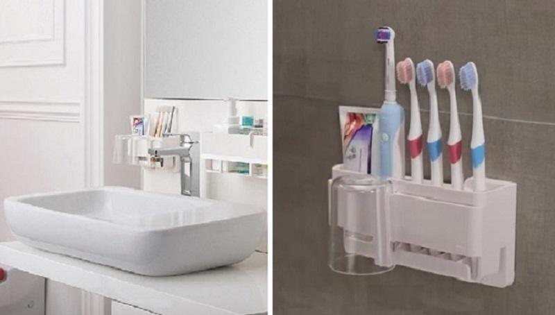 ▲3M無痕極淨防水收納系列牙刷收納架,原價531特價399,優惠至3/31。小工具大功能,多人家庭必備。(圖片來源:Yahoo購物中心)