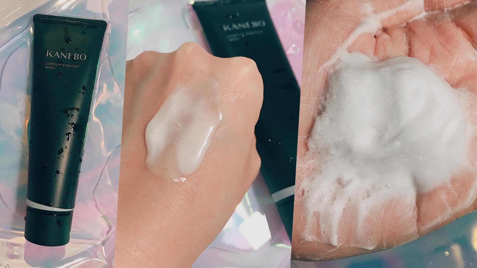 Kanebo 保濕緻潤洗顏皂霜有超綿密的起司質地,一點點就能搓出豐盈泡泡。