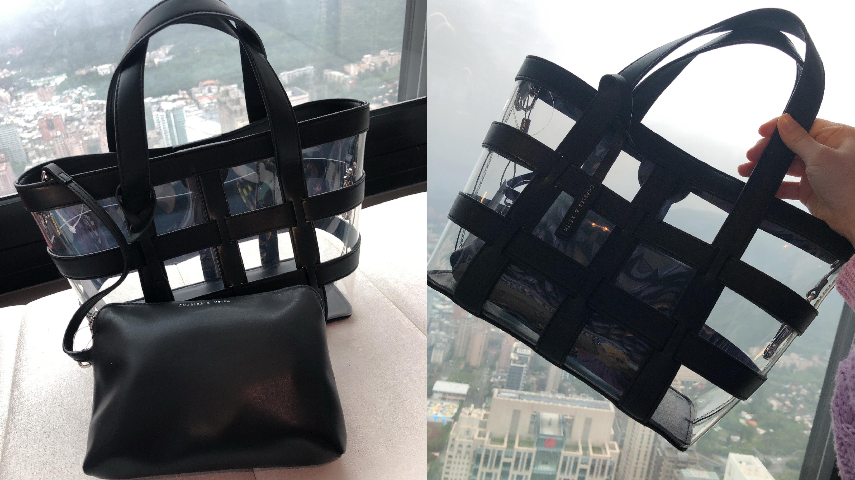 半透明網紗材質等元素,翻玩出變化多端的時髦配件