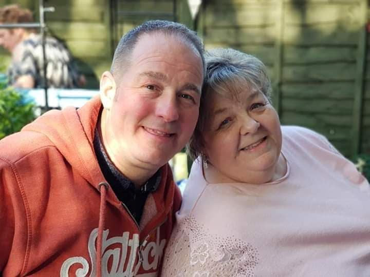 Susan Nelson and husband Robert are both believed to have contracted coronavirus as her aunt's funeral (SWNS)