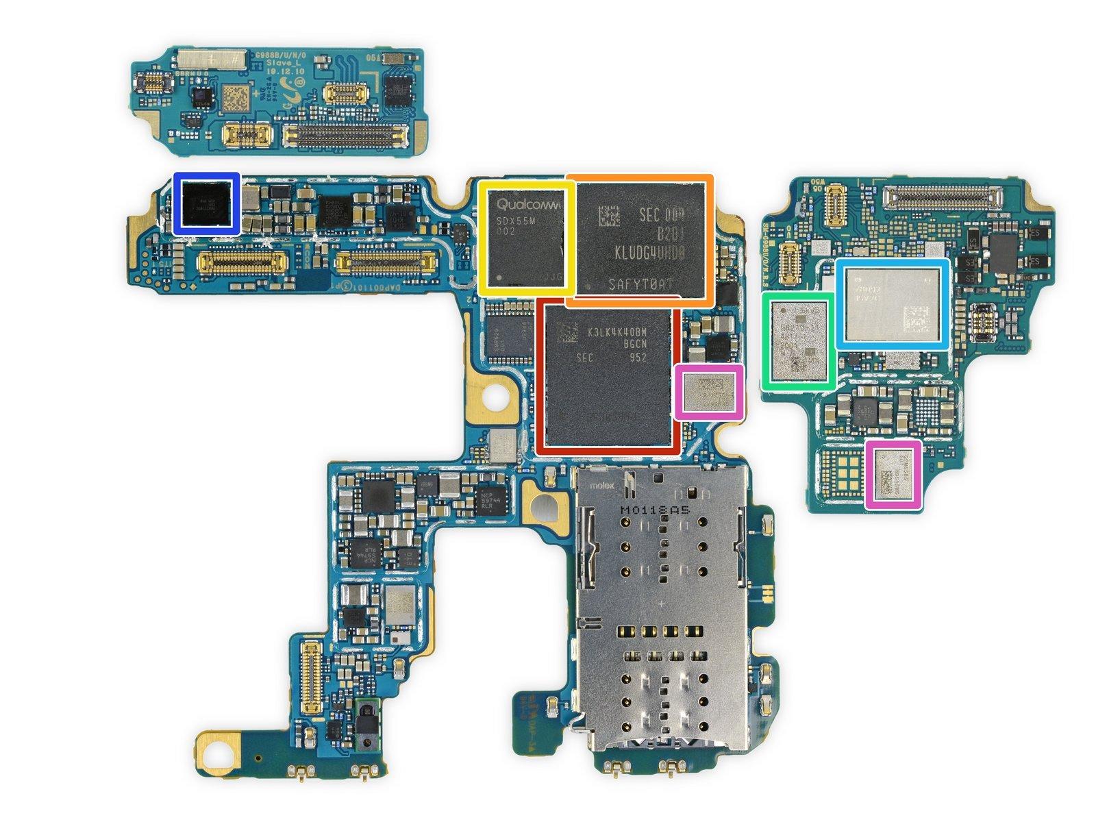 Galaxy S20 Ultra iFixit