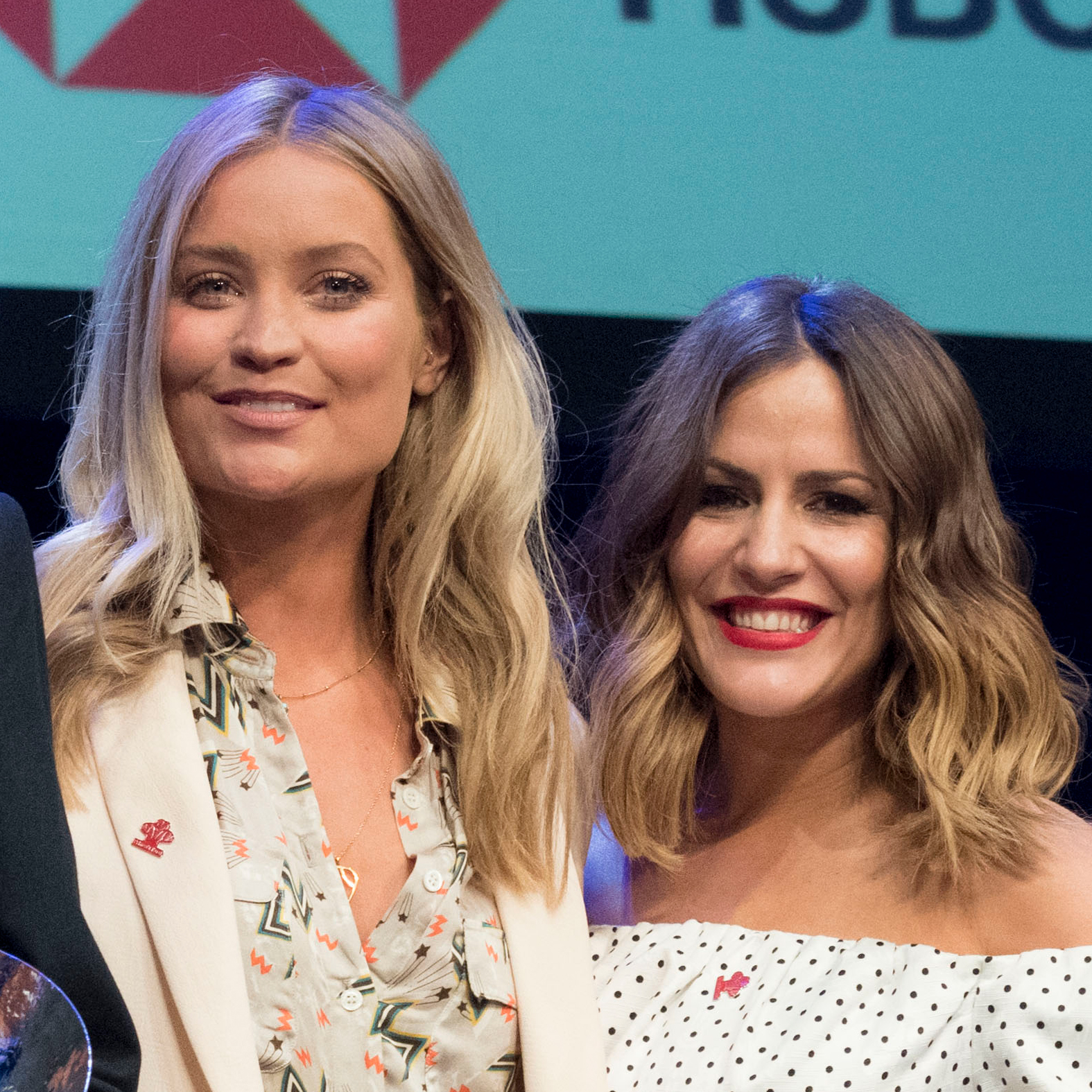 Laura Whitmore and Caroline Flack met ten years ago at V Festival