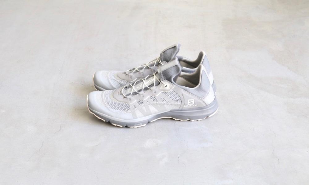 回 Salomon 攜手來自日本的戶外機能品牌 and wander 所打造的新鞋型,更是我們不能錯過的