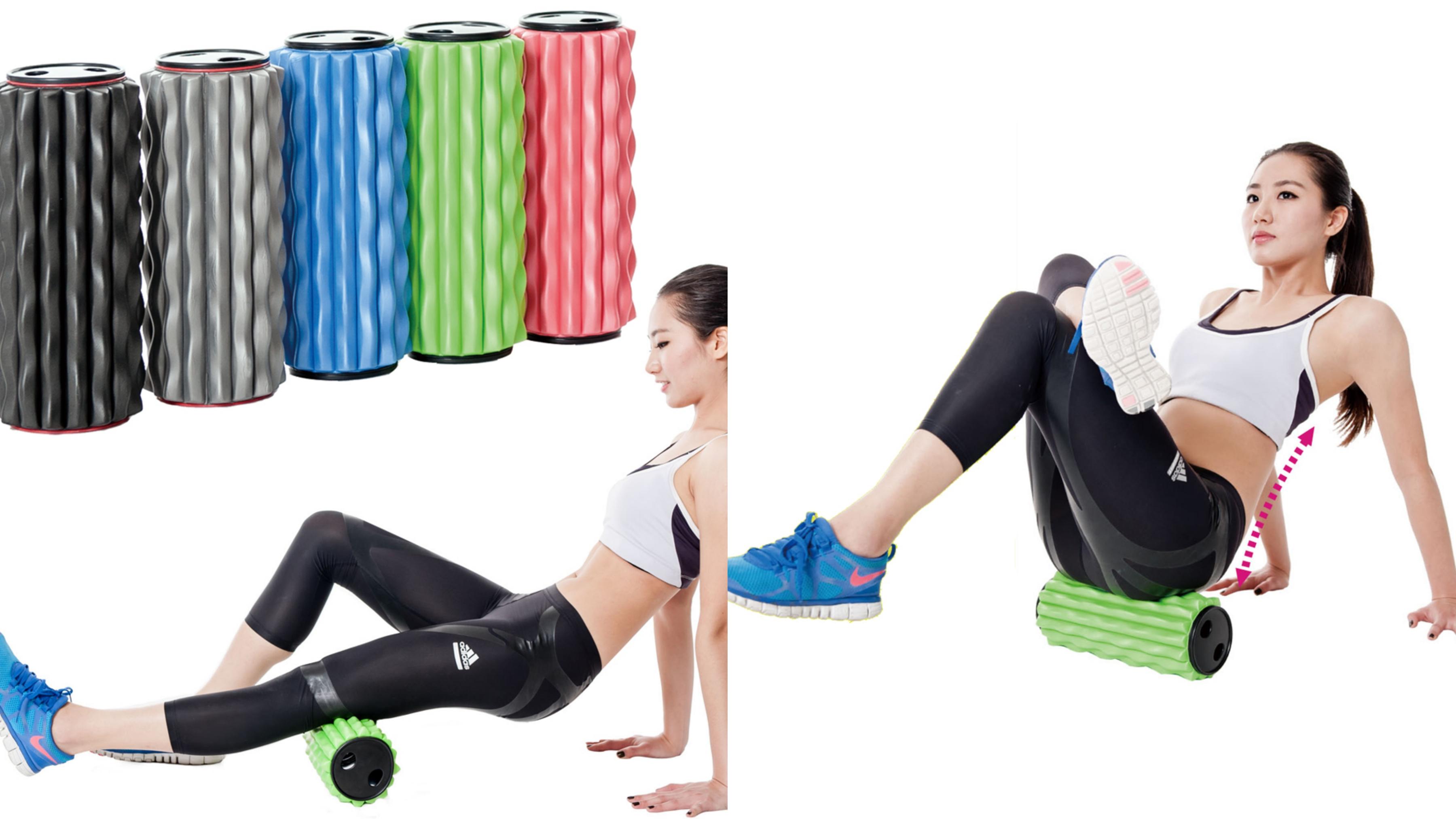 放鬆深層肌肉,加強核心力量,波浪交叉設計,EVA材質,安全無毒,彈性佳、輕量材質,攜帶方便