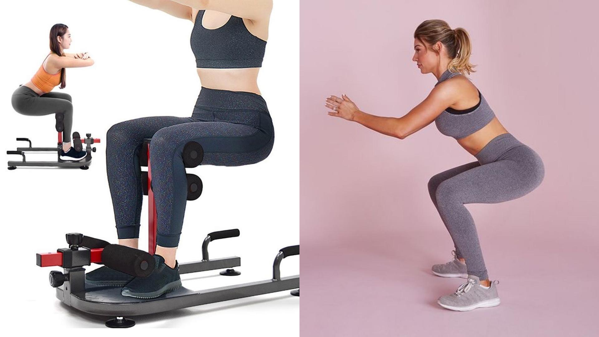 除了讓你的姿勢更標準外,還能變化成負重深蹲、弓步深蹲,讓訓練變得更有趣!