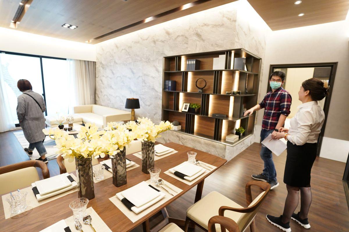 ▲受到肺炎疫情以及自住市場當道的影響,北台灣推案以2~3房的小宅為主力。