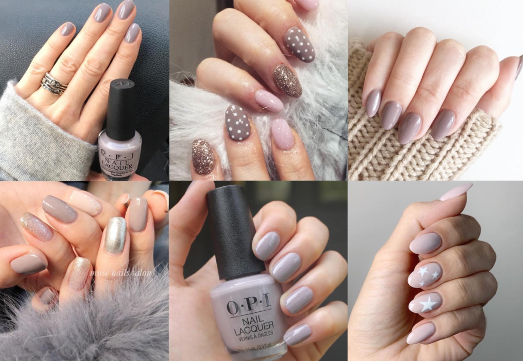 2019年掀起的「奶茶色」風潮,從服飾、彩妝、髮色、單品配件一路延燒,甚至連同指尖色彩也同步跟進!
