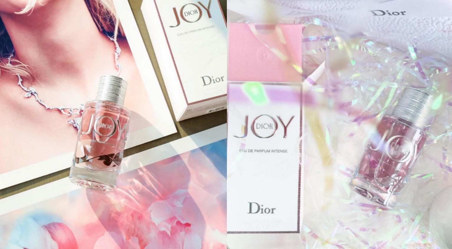 迪奧JOY by Dior系列推出新品!盛放如絢爛花火般的歡愉氣息