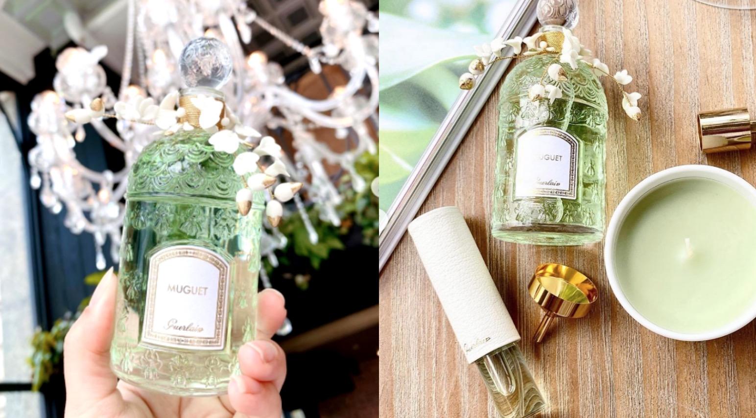 嬌蘭 鈴蘭淡香水縷金瓷卉封印瓶 & 鈴蘭香氛蠟燭 超限量上市