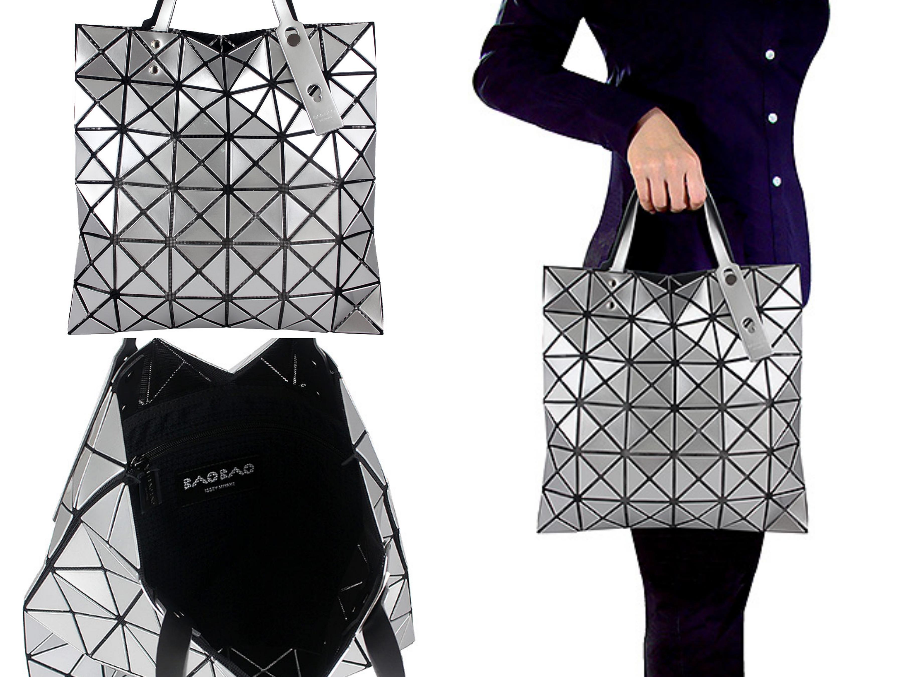 ISSEY MIYAKE 三宅一生話題度最高的BAOBAO包,經典幾何圖形方格設計系列