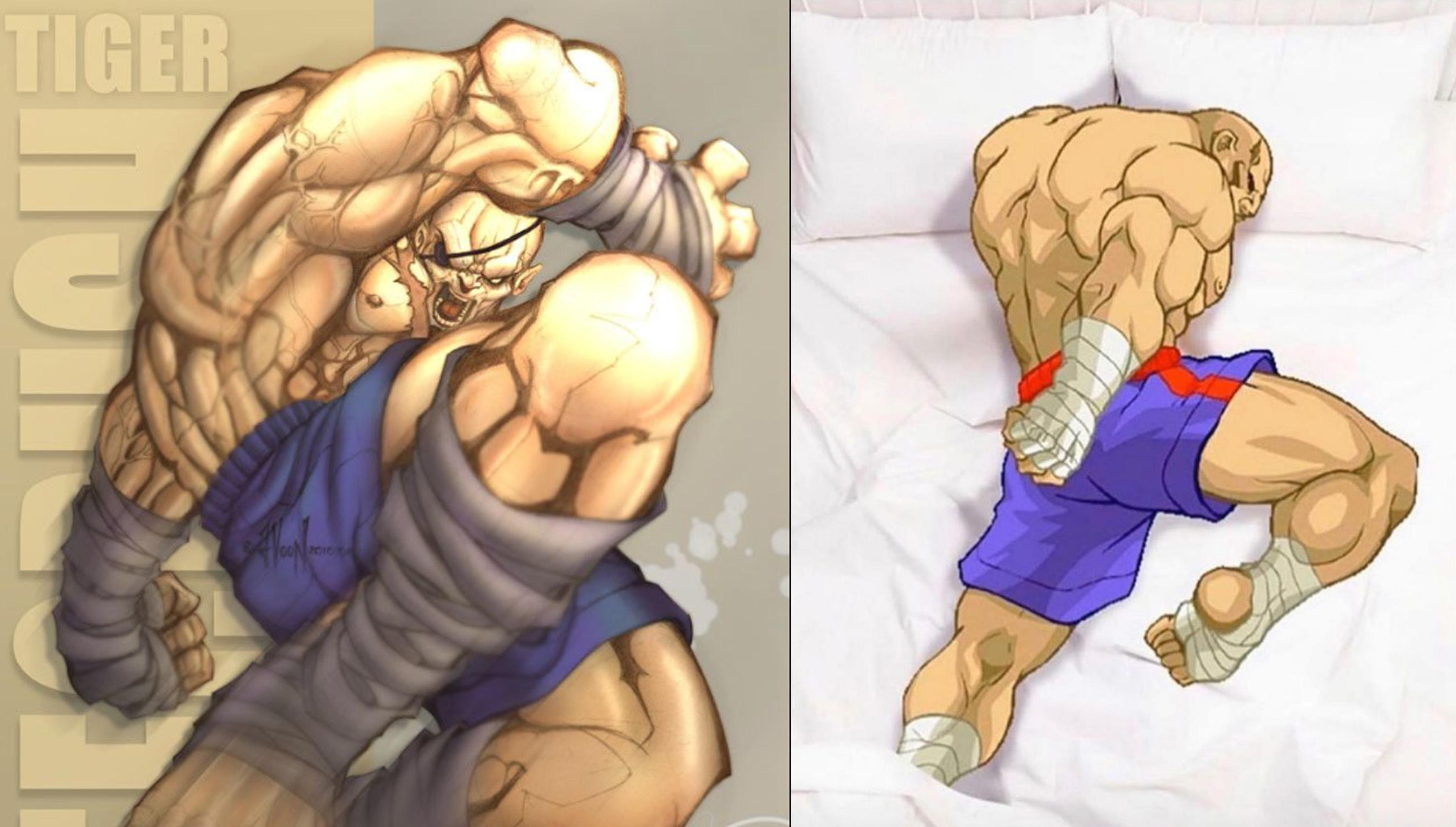 真的超像一個好睡的姿勢。(圖源:Capcom)