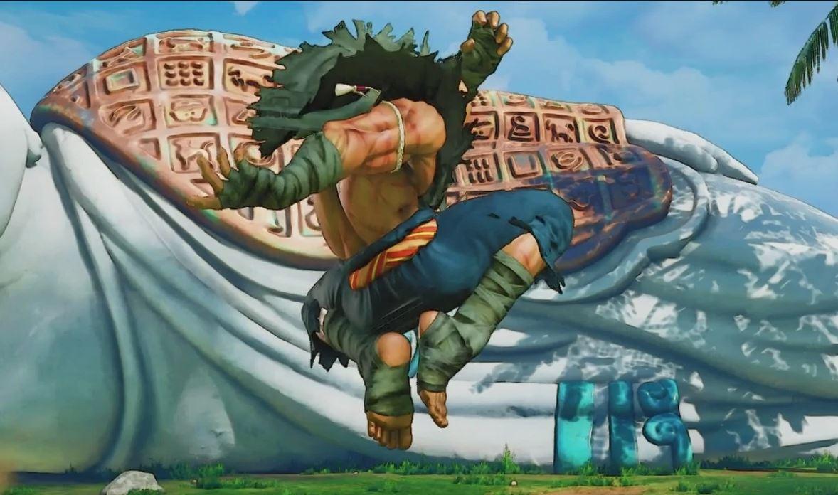 即便到最新版本,經典姿勢仍然保留著。(圖源:Capcom)