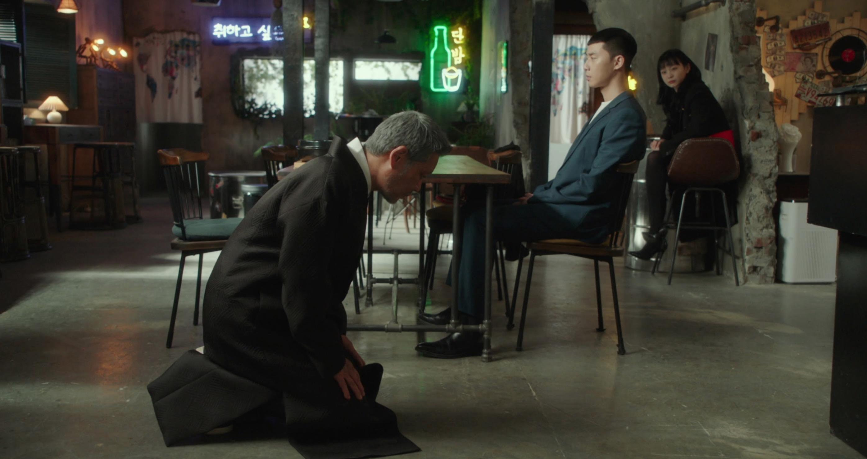 張大熙最後向朴世路跪拜乞求原諒
