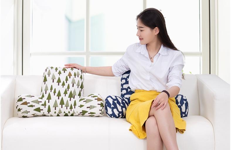 ▲市面上有不少造型可愛的護腰墊,選擇相當多元。(圖片來源:Yahoo超級商城)