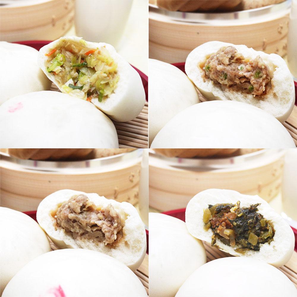香Q的餅皮裡面是滿滿多汁的內餡,使用的也都是宜蘭在地的蔥,咬下去肉香及蔥的香醇味撲滿整個嘴巴