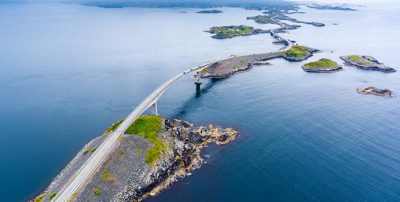 圖/挪威世紀建築的《大西洋公路》