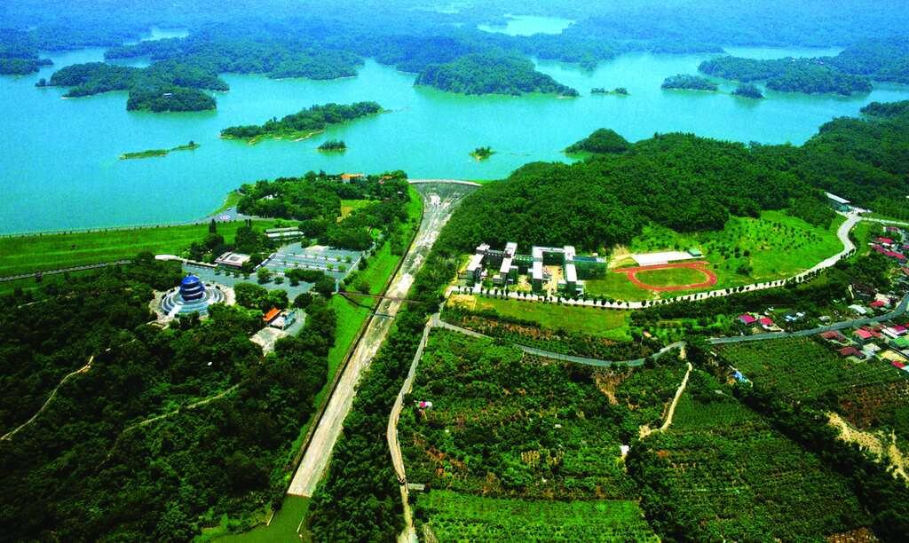 烏山頭水庫(圖片來源:台南市政府)