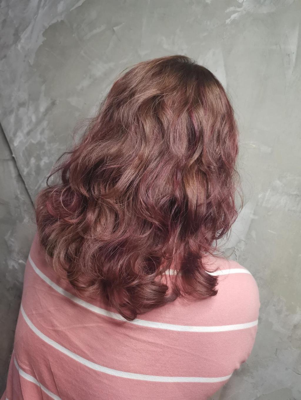 不用擔心漂髮髮質變得很差,推薦搭配深層結構護髮,專門補充漂髮後流失的蛋白質