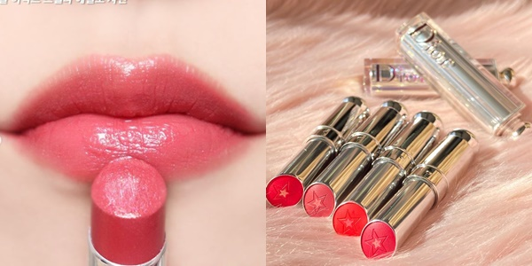 光澤唇彩能讓唇瓣看起來更豐潤