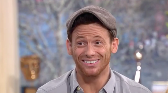 Joe Swash appeared on This Morning the day after his Dancing On Ice victory. (ITV)