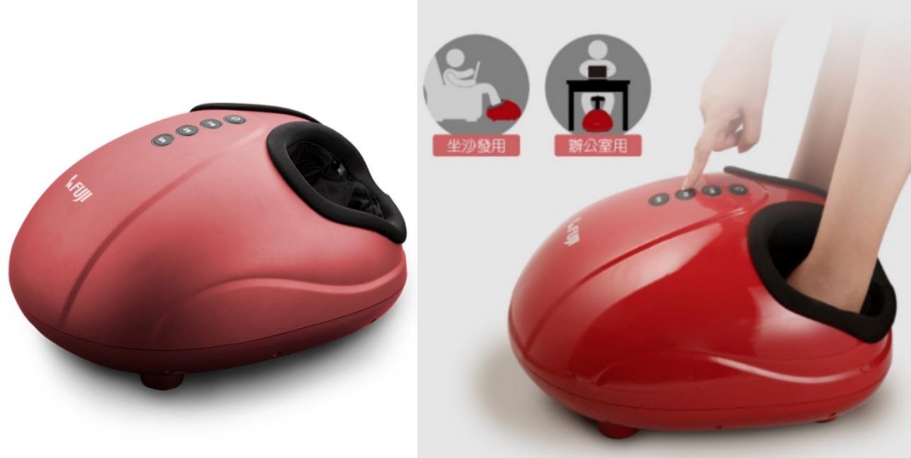 體積不會太大,放在家沒負擔,有三種按摩模式可選,加上可調節式的氣壓按摩能替雙足紓解疲勞,連腳後跟都能照顧到!