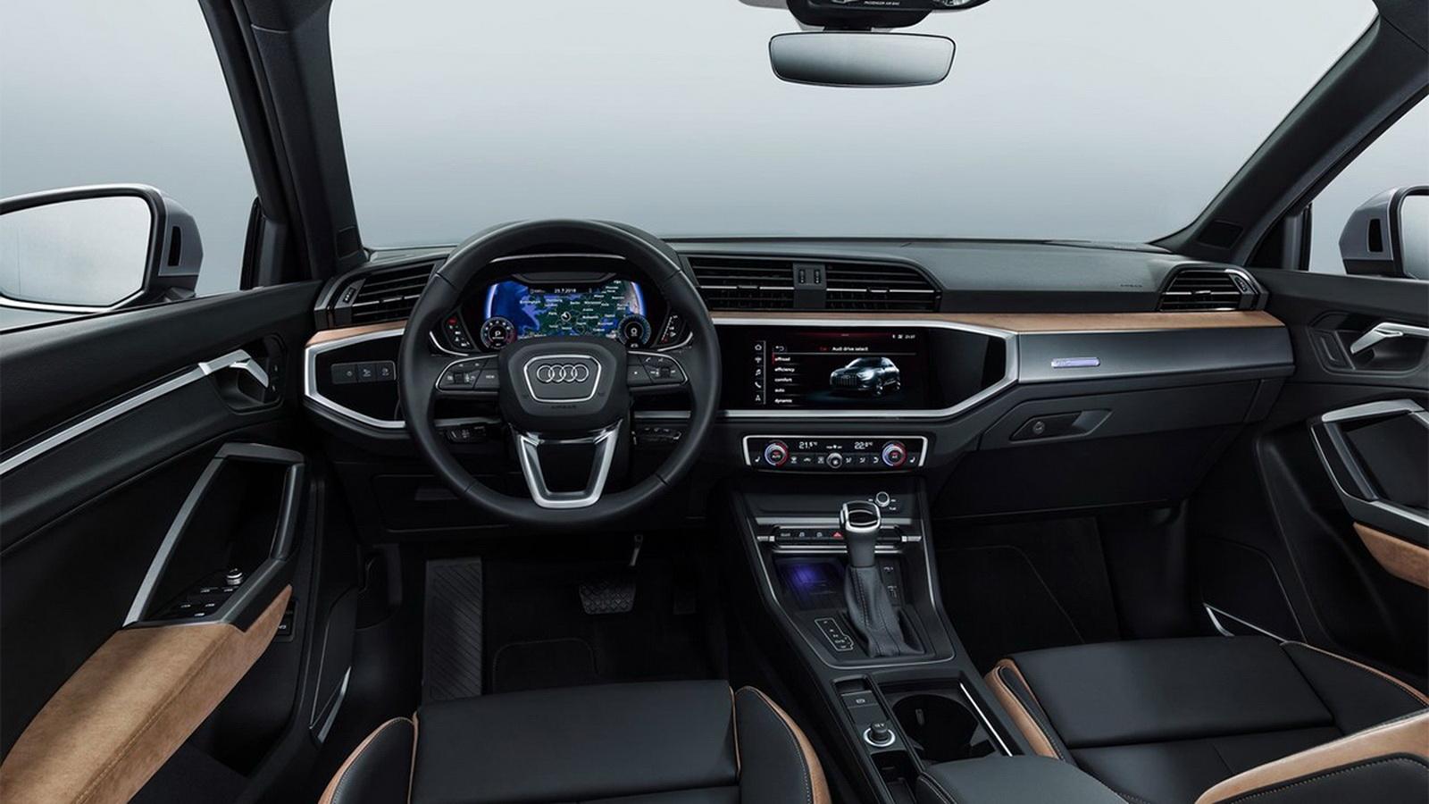 圖/2020 Audi Q3 35 TFSI車艙最大亮點,肯定是導入Audi MMI數位化的概念,Audi MMI數位化車艙不僅美觀且操作直覺。