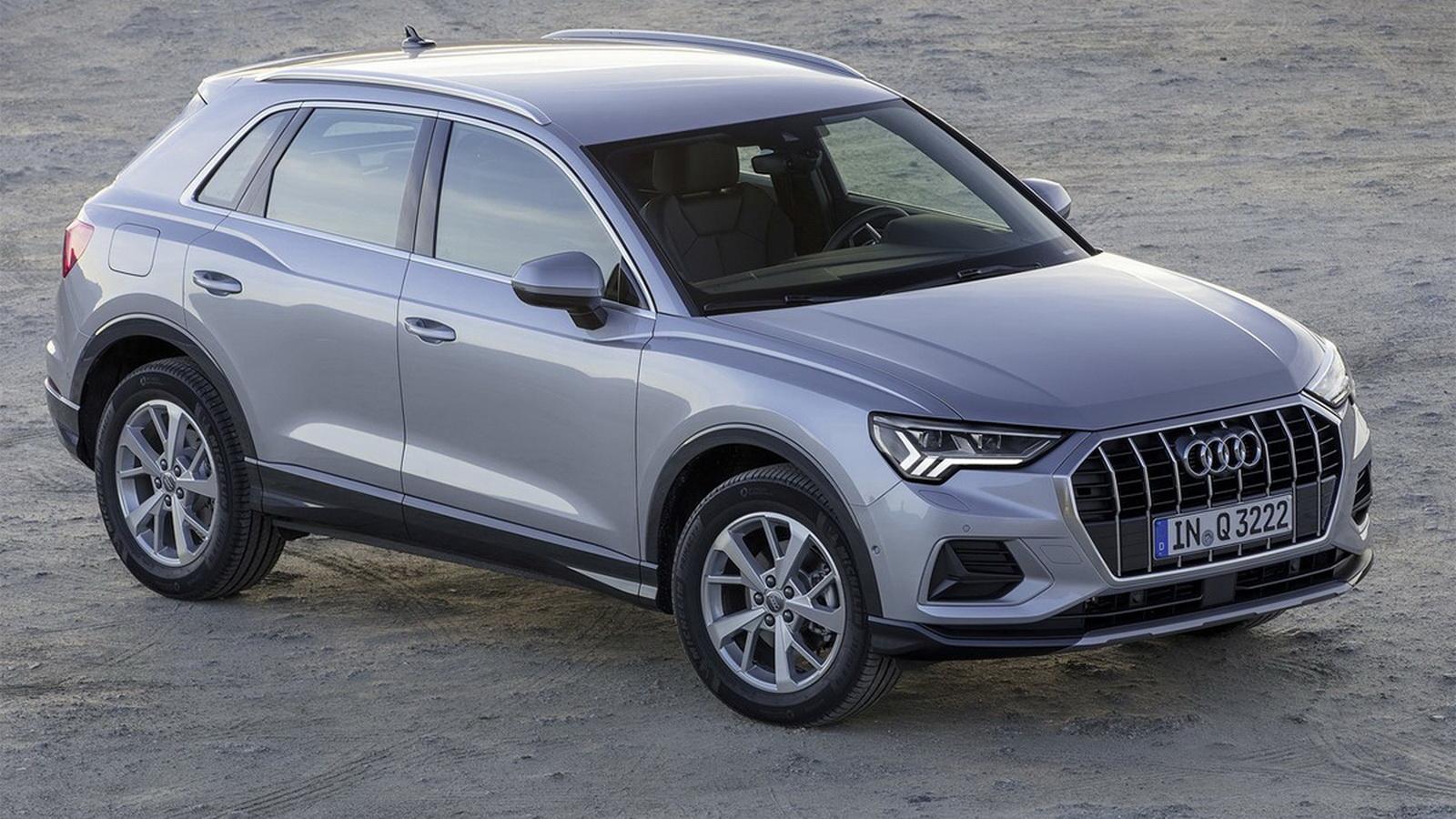 圖/2020 Audi Q3 35 TFSI大改款承襲全新世代Audi家族設計語彙,整體散發出格外鮮明的運動化跑格。