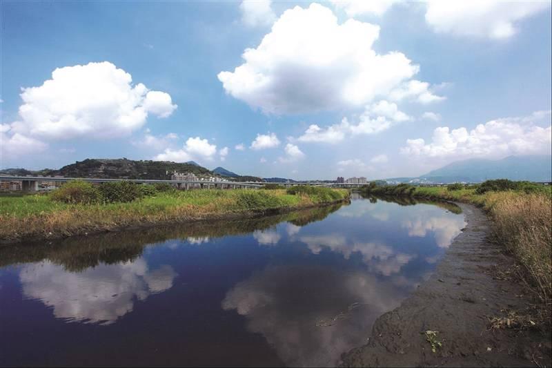 五股溼地位在台北盆地西緣,地處淡水河與基隆河交會地帶。圖/新北觀光旅遊網