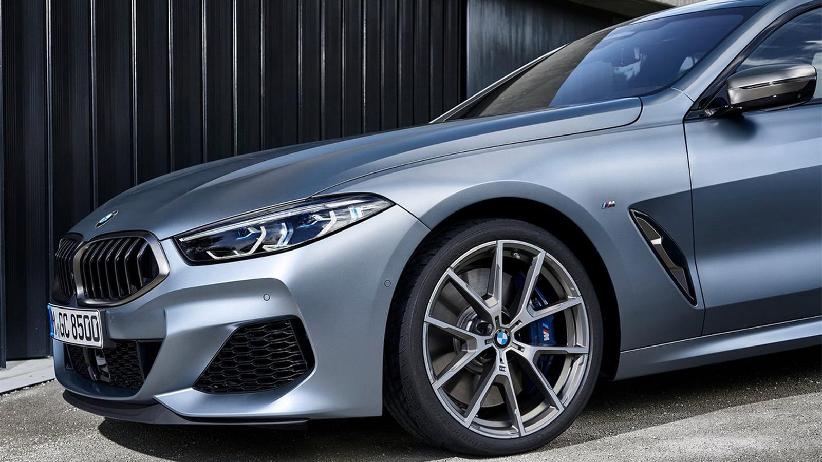 圖/2020 BMW 8-Series Gran Coupe M850i xDrive透過輕量化CFRP碳纖維複合材質、鋁與鎂材質換來更輕盈的車重,對加減速反應與操控皆打下優異基礎。