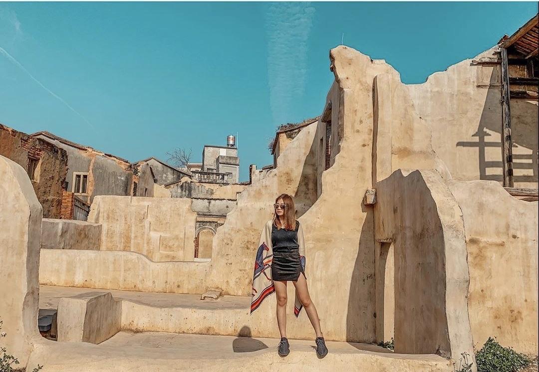 這不是摩洛哥?金門沙美老街美出北非風情