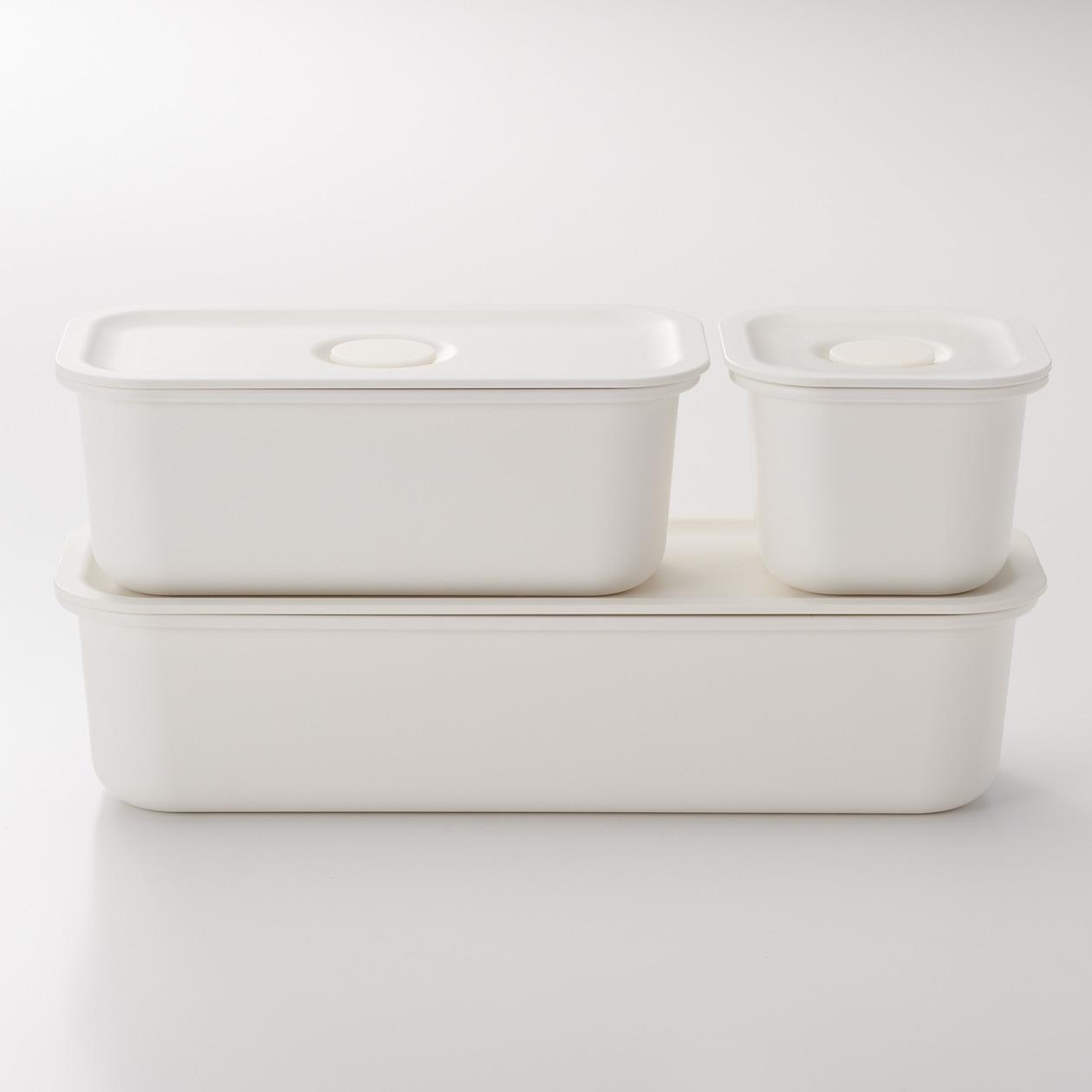 簡潔純白的設計,最適合喜歡簡單品味的你,可以直接當成便當盒使用,光看就有好心情。