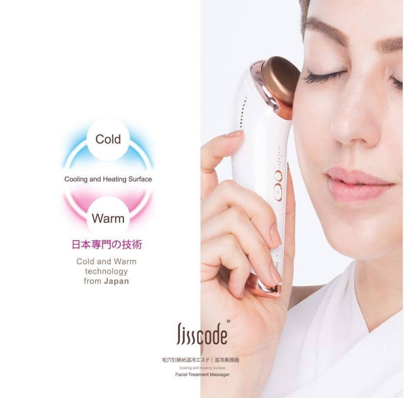 10°C冰冷美肌,收斂毛孔的模式,讓你在清除粉刺後亦可有效保養,維持肌膚彈性透亮。