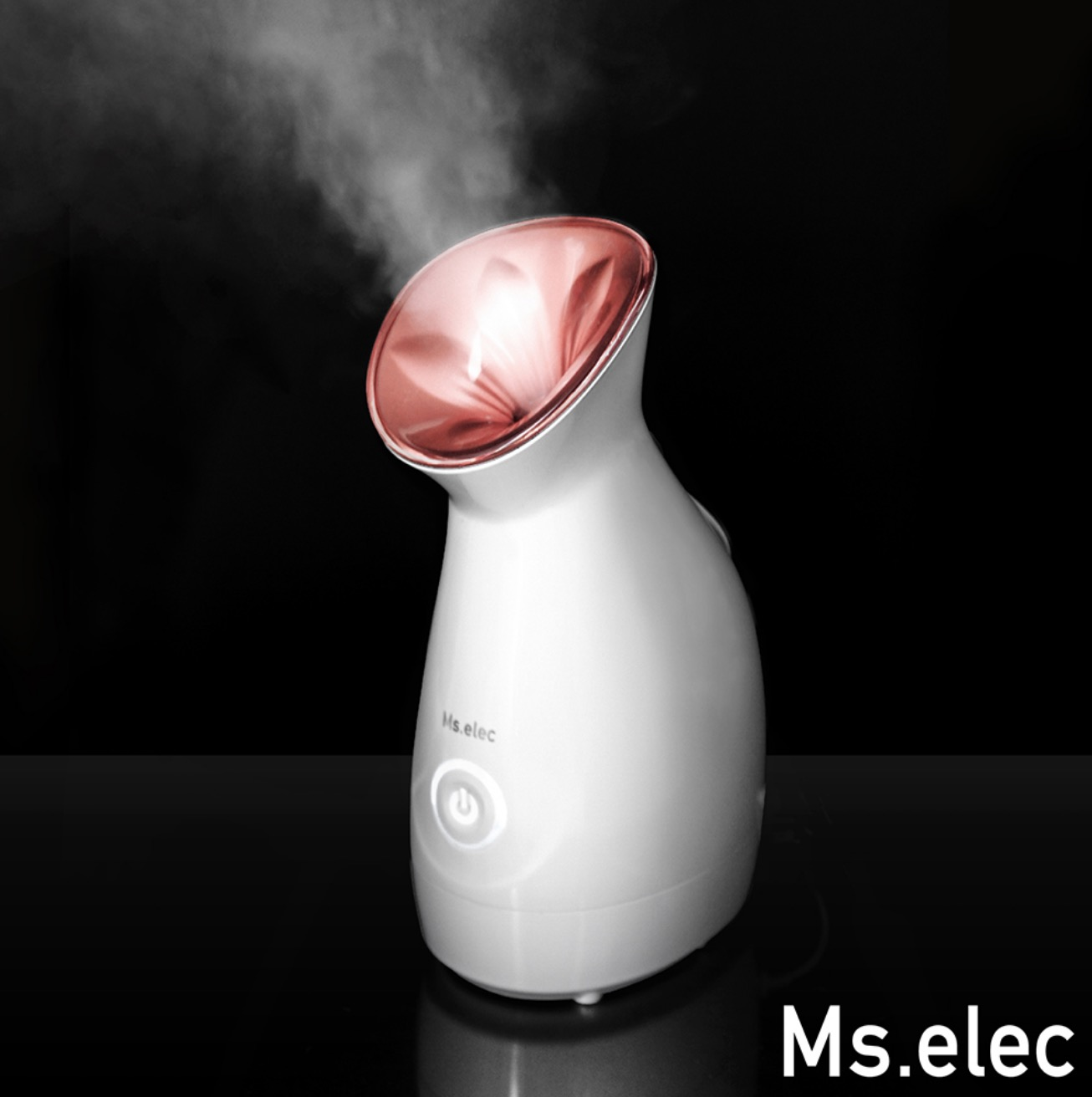 利用冷霧氣有效縮小毛孔,使肌膚更加緊緻