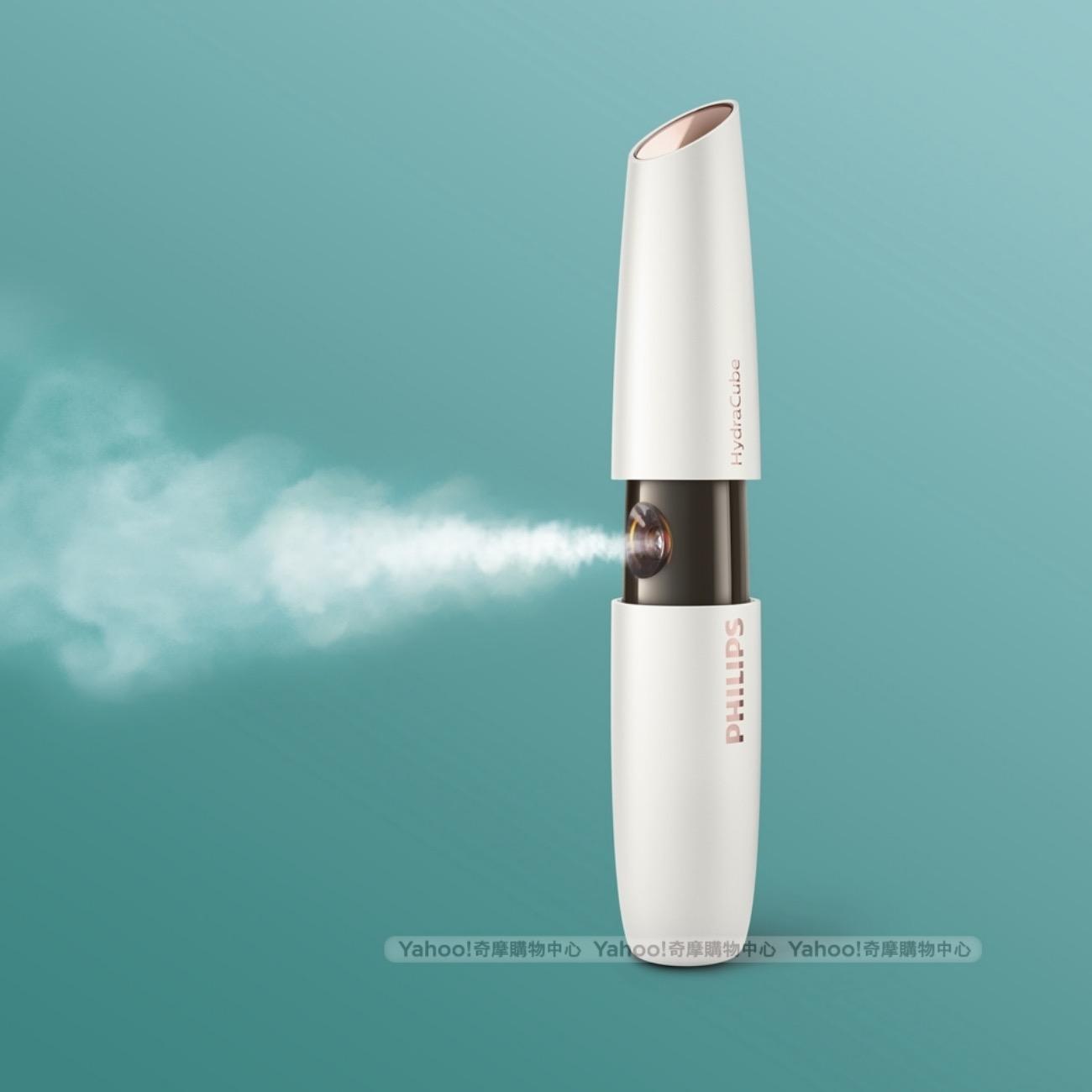 傳統噴霧的分子太大無法有效被肌膚完整吸收,用飛利浦超音波微米水霧讓水分深入肌底,幫肌膚有效補水