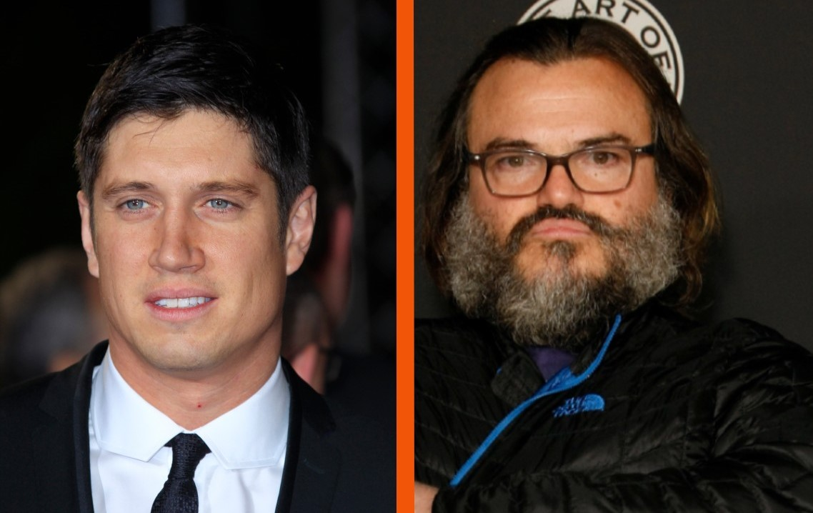 Vernon Kay has attacked Jack Black for being arrogant when he interviewed him (AP/PA)